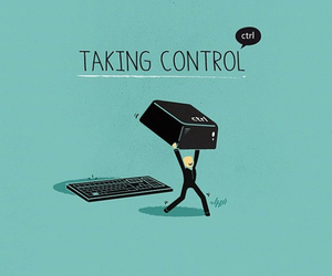 control, funny, and ctrl image