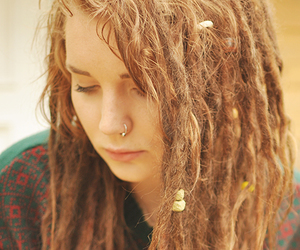 dreads, hair, and hippie image