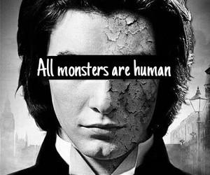human and monsters image