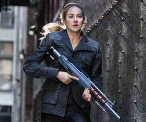 divergent, tris, and Shailene Woodley image