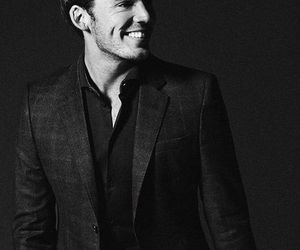 sam claflin, smile, and Hot image