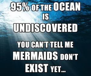 mermaid, ocean, and funny image