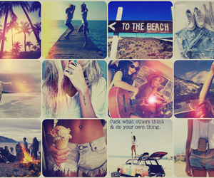 Collage, perfect ♥, and summer image