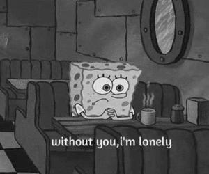 spongebob, cute, and love image