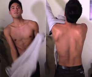 handsome, OMG, and sexy back image