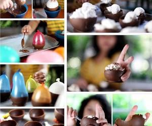 balloon, food, and chocolate image