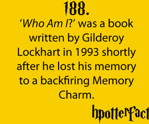 lockheart, hpotterfacts, and harry pottrer image