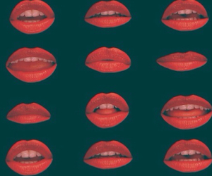 kiss, background, and lips image