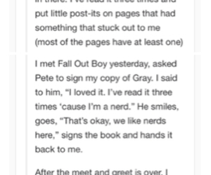 amazing, depression, and fall out boy image