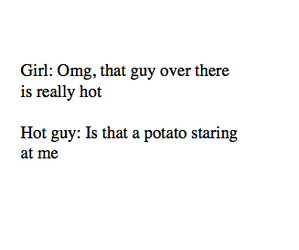 potato and funny image