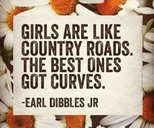 curves, girls, and country image