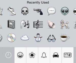 grunge, emoji, and iphone image