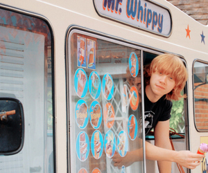 rupert grint, ice cream, and harry potter image