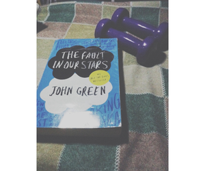 john green, the fault in our stars, and movie image