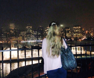 blond hair, night, and want back image