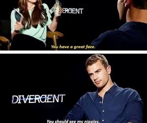 four, funny, and divergent image