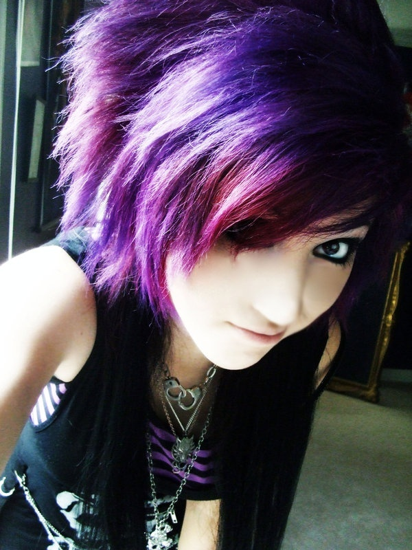 Emo Haircuts For Short Hair 2014 On We Heart It