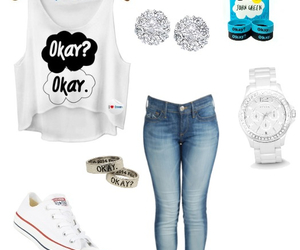 john green, outfit, and the fault in your stars image