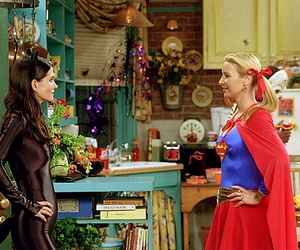 friends, monica, and phoebe image