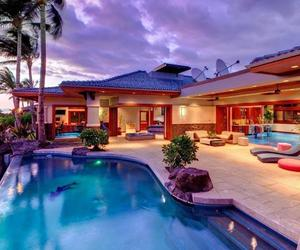 luxury, rich, and swimming pool image