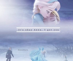 frozen, sisters, and love image