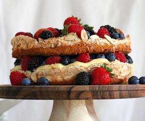 almond, cake, and meringue image