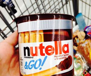delicious, nutella, and nutella&go image