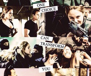 book, divergent, and choice image