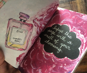 art, perfume, and wreck this journal image