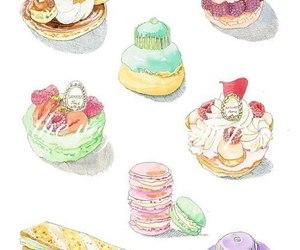 food, art, and sweet image