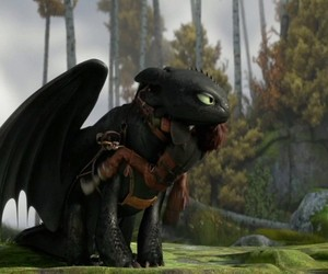 cutie, howtotrainyourdragon2, and toothless image