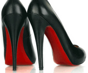 shoes, louboutin, and black image