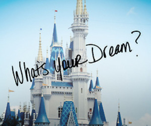 Dream, disney, and castle image