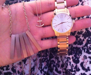 CK, necklace, and watch image