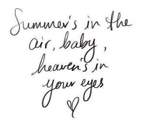 summer, heaven, and love image