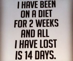 diet, haha, and lose image