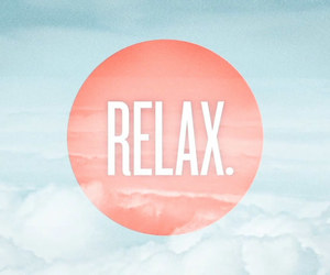 relax, cloud, and summer image