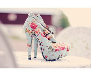 floral, shoes, and cute image
