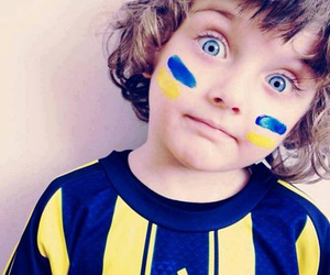 fenerbahce, child, and sari image