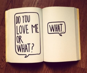 love, what, and book image
