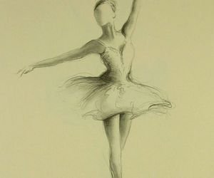 art, ballerina, and cool image
