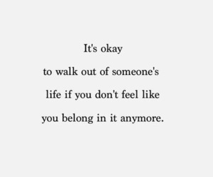life, quotes, and it's okay image