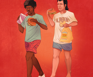 pulp fiction, quentin tarantino, and love image