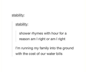 funny, hour, and shower image