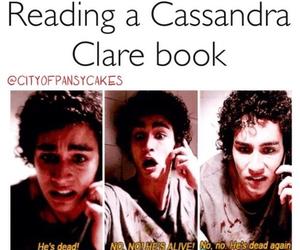 cassandra clare, book, and tmi image