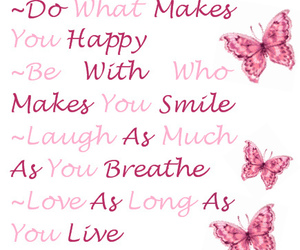 quote, happy, and smile image