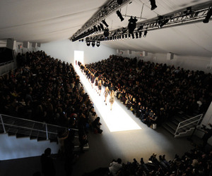 fashion, model, and catwalk image