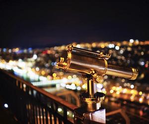 light, night, and telescope image