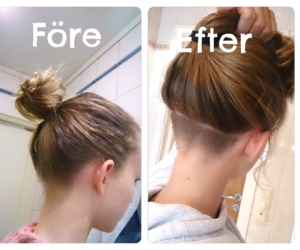 before and after, swedish, and undercut image