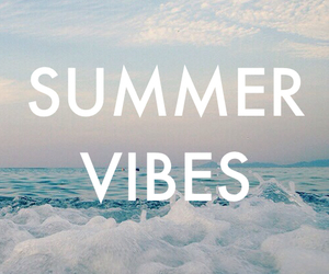 summer, vibes, and beach image